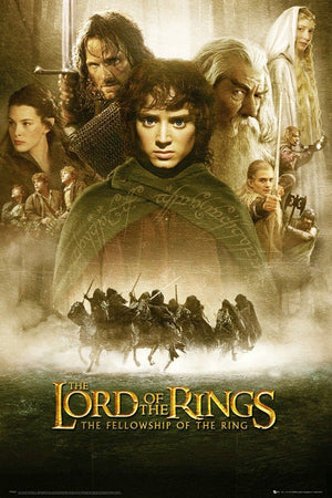 GBeye Lord of the Rings Fellowship of the Ring Poster 61x91,5cm | Yourdecoration.nl