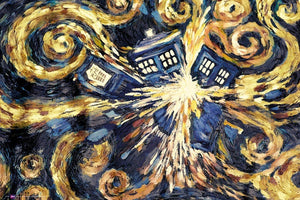GBeye Doctor Who Exploding Tardis Poster 91,5x61cm | Yourdecoration.nl