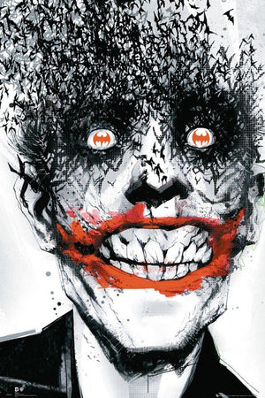 GBeye Batman Comic Joker Bats Poster 61x91,5cm | Yourdecoration.nl