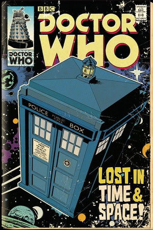 GBeye Doctor Who Tardis Comic Poster 61x91,5cm | Yourdecoration.nl