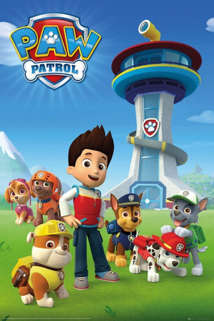 GBeye Paw Patrol Team Poster 61x91,5cm | Yourdecoration.nl