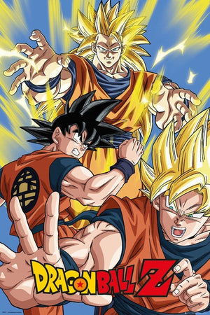 GBeye Dragon Ball Z Goku Poster 61x91,5cm | Yourdecoration.nl