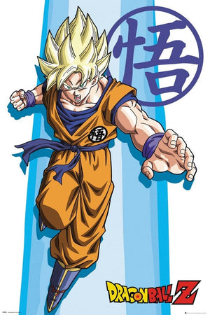GBeye Dragon Ball Z Goku Poster 91,5x61cm | Yourdecoration.nl