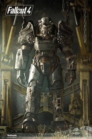 GBeye Fallout 4 Full Armour Poster 61x91,5cm | Yourdecoration.nl