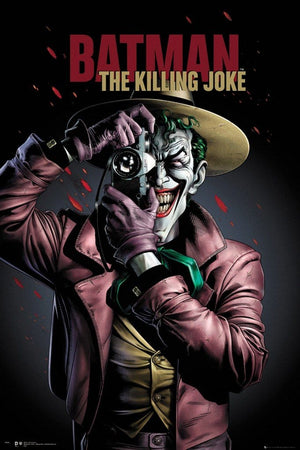 GBeye Batman Comic Killing Joke Portrait Poster 61x91,5cm | Yourdecoration.nl