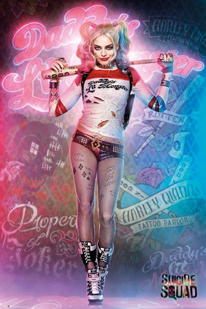 GBeye Suicide Squad Harley Quinn Stand Poster 61x91,5cm | Yourdecoration.nl