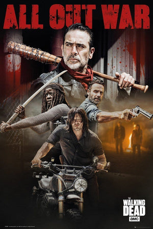 GBeye The Walking Dead Season 8 Collage Poster 61x91,5cm | Yourdecoration.nl