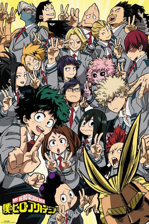 GBeye My Hero Academia School Compilation Poster 61x91,5cm | Yourdecoration.nl