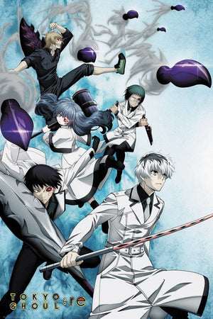 GBeye Tokyo Ghoul RE Key Art 2 Poster 61x91,5cm | Yourdecoration.nl