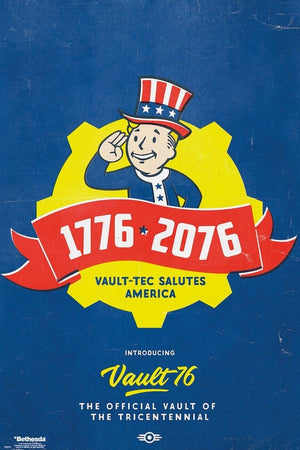 GBeye Fallout 76 Tricentennial Poster 61x91,5cm | Yourdecoration.nl