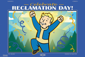 GBeye Fallout 76 Reclamation Day Poster 91,5x61cm | Yourdecoration.nl