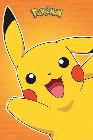 GBeye Pokemon Pikachu Poster 61x91,5cm | Yourdecoration.nl