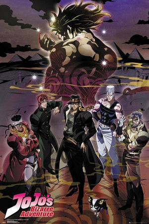 GBeye JoJo s Bizarre Adventure Group Poster 61x91,5cm | Yourdecoration.nl
