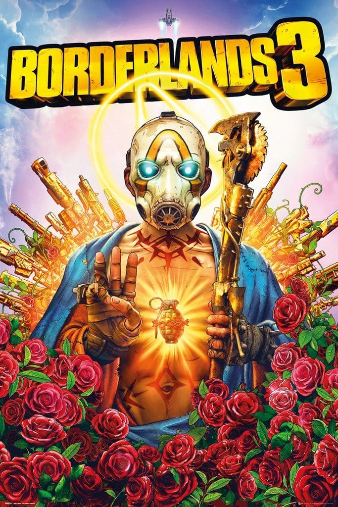GBeye Borderlands 3 Game Cover Poster 61x91,5cm