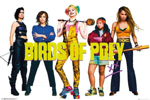GBeye Birds of Prey Group Poster 91,5x61cm | Yourdecoration.nl
