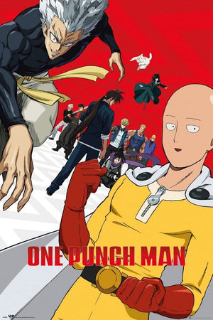 GBeye One Punch Man Season 2 Poster 61x91,5cm | Yourdecoration.nl