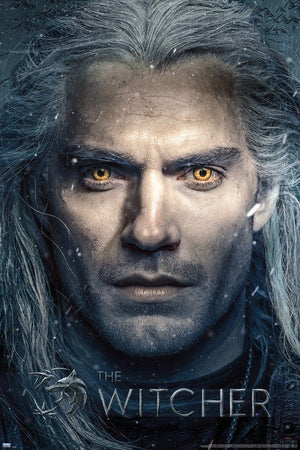 GBeye The Witcher Close Up Poster 61x91,5cm | Yourdecoration.nl