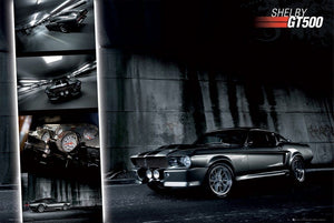 GBeye Ford Shelby Mustang GT500 Poster 91,5x61cm | Yourdecoration.nl