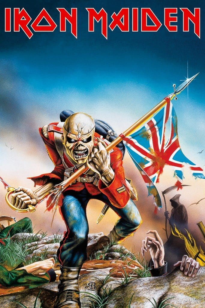 GBeye Iron Maiden Trooper Poster 61x91,5cm