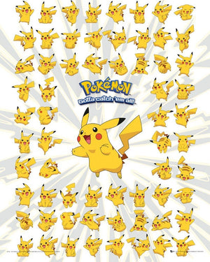 GBeye Pokemon Pikachu Poster 40x50cm | Yourdecoration.nl