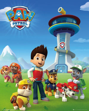 GBeye Paw Patrol Team Poster 40x50cm | Yourdecoration.nl