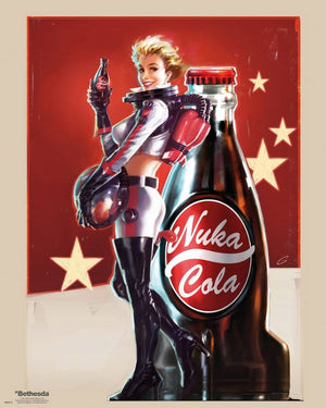 GBeye Fallout 4 Nuke Cola Poster 40x50cm | Yourdecoration.nl