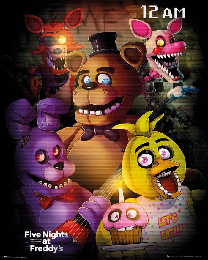 GBeye Five Nights at Freddys Group Poster 40x50cm