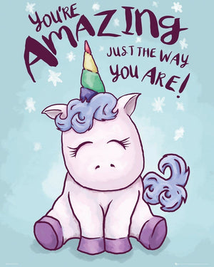 GBeye Unicorn Amazing Poster 40x50cm | Yourdecoration.nl