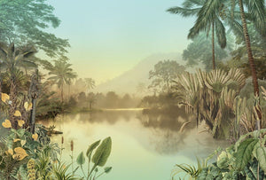 Komar Lac Tropical Vlies Fotobehang 400x270cm 8-banen | Yourdecoration.nl