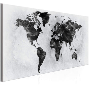 Artgeist Concrete World Wide Canvas Schilderij  | Yourdecoration.nl