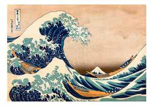 Artgeist Hokusai The Great Wave off Kanagawa Reproduction Vlies Fotobehang | Yourdecoration.nl