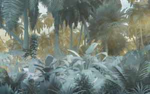 Komar Misty Jungle Vlies Fotobehang 400x250cm 4-banen | Yourdecoration.nl