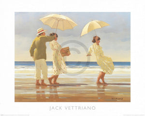 Jack Vettriano - The Picnic Party Kunstdruk 50x40cm | Yourdecoration.nl