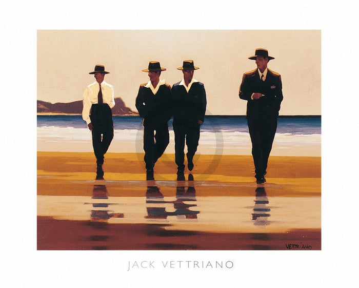 Jack Vettriano - The Billy Boys Kunstdruk 50x40cm