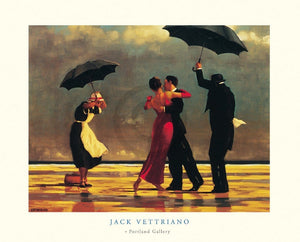 Jack Vettriano - The Singing Butler Kunstdruk 80x60cm | Yourdecoration.nl