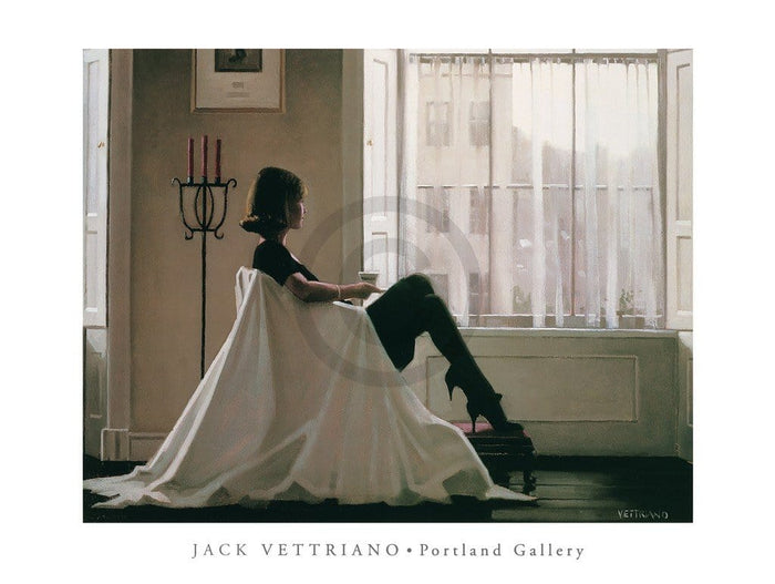 Jack Vettriano - In Thoughts of You Kunstdruk 80x60cm