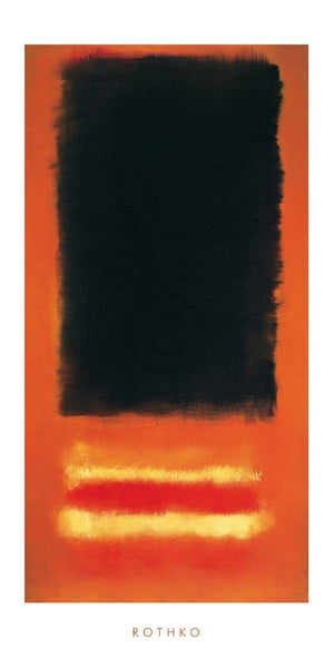 Mark Rothko - Untitled Kunstdruk 50x100cm | Yourdecoration.nl