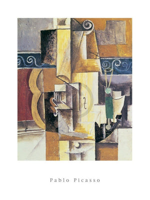 Pablo Picasso - Violin and Guitar Kunstdruk 60x80cm | Yourdecoration.nl