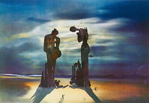 Salvador Dali - Reminiscence archeologique Kunstdruk 70x50cm | Yourdecoration.nl