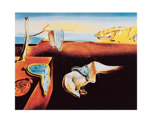 Salvador Dali - The Persistance of Memory Kunstdruk 50x40cm | Yourdecoration.nl
