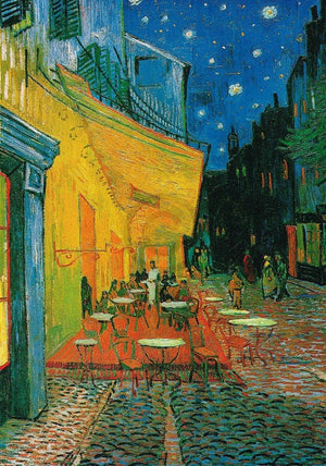 Vincent Van Gogh - Café at Night Kunstdruk 70x100cm | Yourdecoration.nl