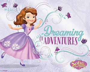 Pyramid Sofia the First Dreaming Poster 50x40cm | Yourdecoration.nl