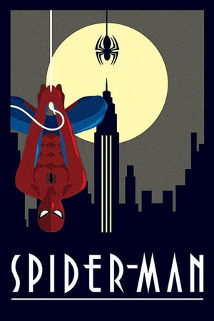 Pyramid Marvel Deco Spider-Man Hanging Poster 61x91,5cm | Yourdecoration.nl