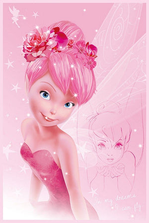 Pyramid Disney Fairies Tink Pink Poster 61x91,5cm | Yourdecoration.nl