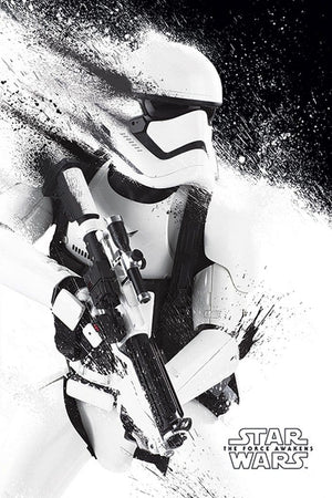 Pyramid Star Wars Episode VII Stormtrooper Paint Poster 61x91,5cm | Yourdecoration.nl