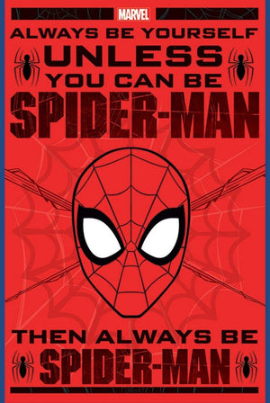 Pyramid Spider Man Always Be Yourself Poster 61x91,5cm | Yourdecoration.nl