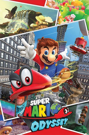 Pyramid Super Mario Odyssey Collage Poster 61x91,5cm | Yourdecoration.nl