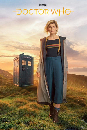 Pyramid Doctor Who 13th Doctor Poster 61x91,5cm | Yourdecoration.nl