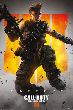 Pyramid Call of Duty Black Ops 4 Battery Poster 61x91,5cm | Yourdecoration.nl