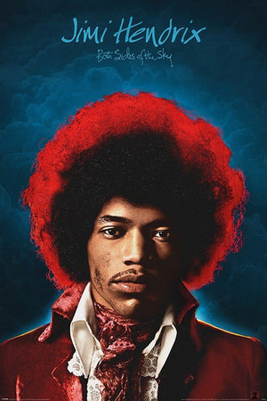Pyramid Jimi Hendrix Both Sides of the Sky Poster 61x91,5cm | Yourdecoration.nl